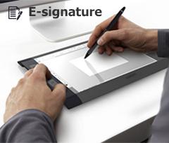 E-signature Solution